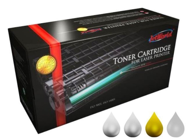 Zgodny Toner CLT-Y4072S do Samsung  CLP320 CLP325 CLX3185 CLX3180 Yellow 1K JetWorld