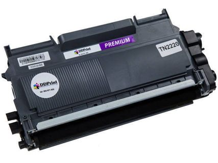Zgodny z TN-2220 toner do Brother 2130 2135 7055 7057 7060 7065 7360 7460 7860 2,6k DD-Print TN2220DR